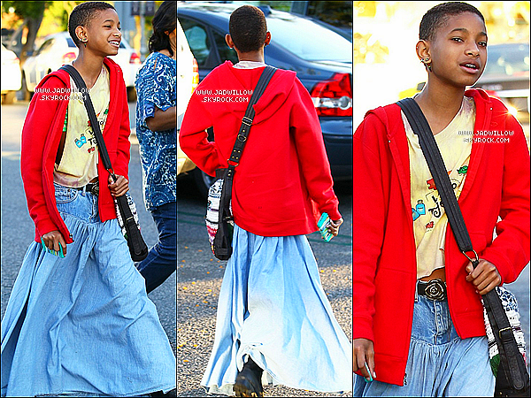 22.06.2012 : Jaden et Willow Smith et Moise A ont été vues allant faire les magasin.  Niveau tenu : Jaden Smith j'adore sa tenus très simple mais j'adore, willow Smith je suis pas fans de sa tenus. Top ou Flop votre avis .