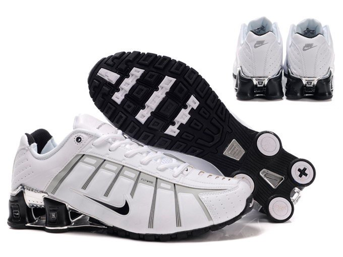 Mens Nike Shox NZ 2.0 White Black