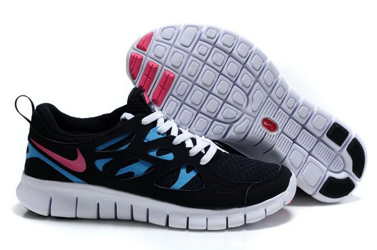 Nike Free Run Mens Black Blue White