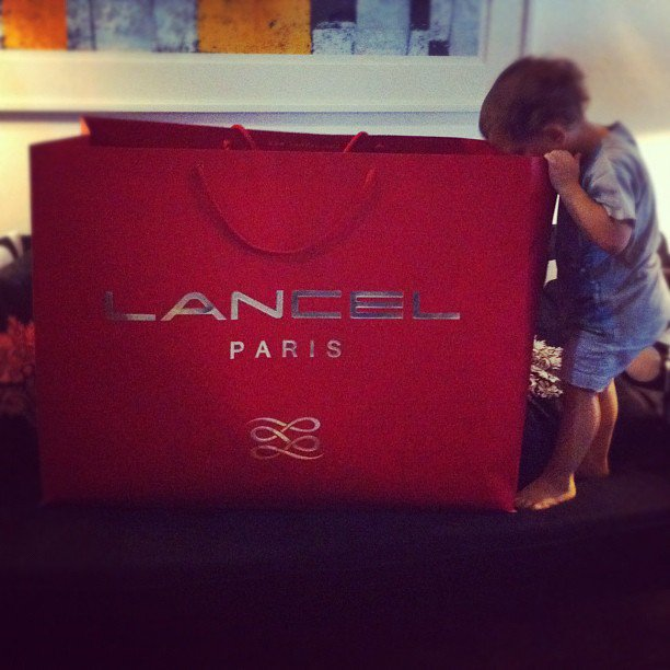 Lancel bag says that he does not care and Tyrion