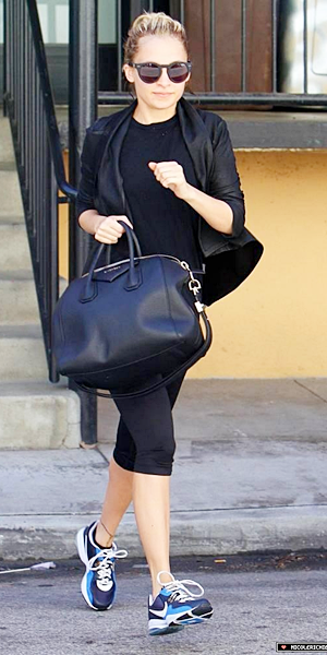4 avril 2011 - Out of the gym in Studio City in LA