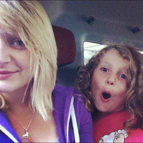 Moi et ma cousine. ♥