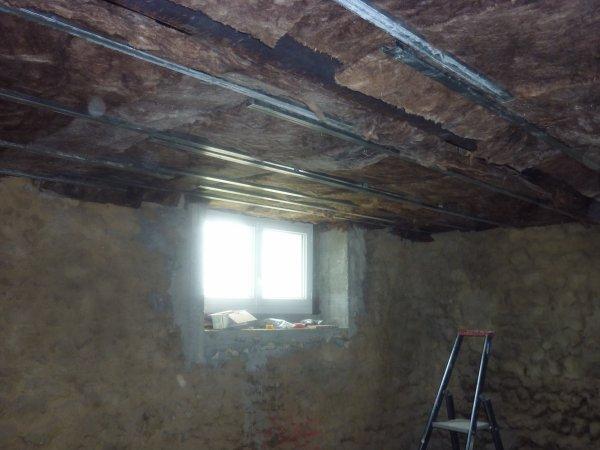 Pose de plafond chambre sdb dressing blog de renov en for Chambre sdb dressing