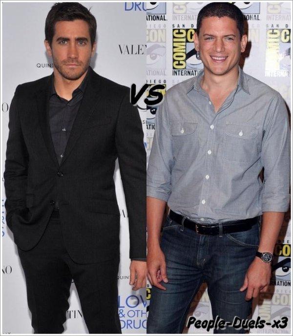 Jake Gyllenhaal VS Wentwoth Miller