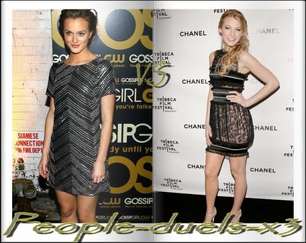 Leighton Meester VS Blake Lively