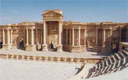 Images : Palmyre, sublimes ruines aux mains de l'EI