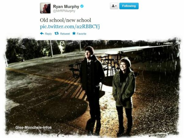 Ryan Murphy a twitter une photo
