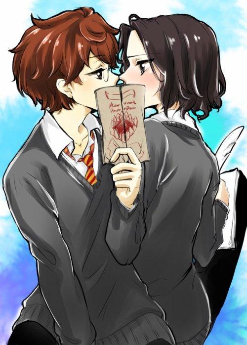 James x Severus #1