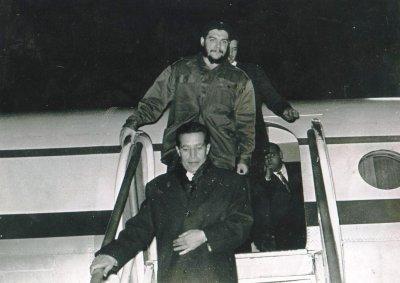 Abdelkader Bousselham,mon père et son ami Che guevara, Alger,1965