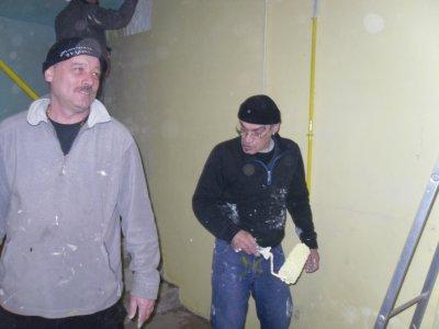 29/01/2011 peinture du local