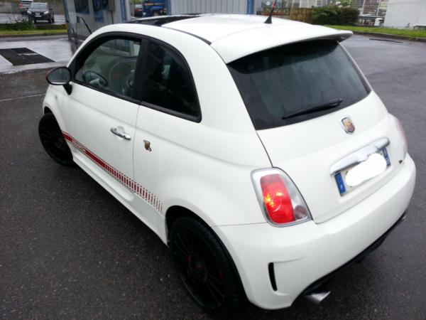 Ma belle petite voiture fiat 500 abarth♥