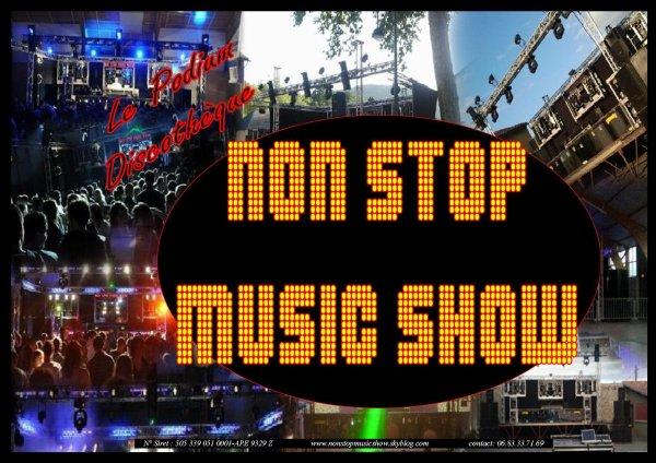 Bienvenue sur le blog du podium NON STOP MUSIC SHOW !!!