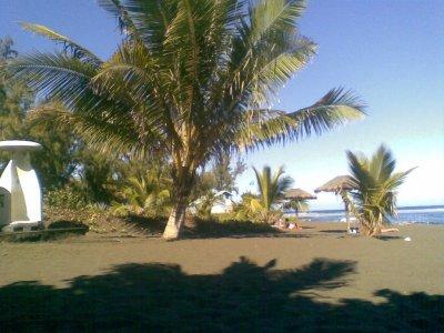 la plage étang salé