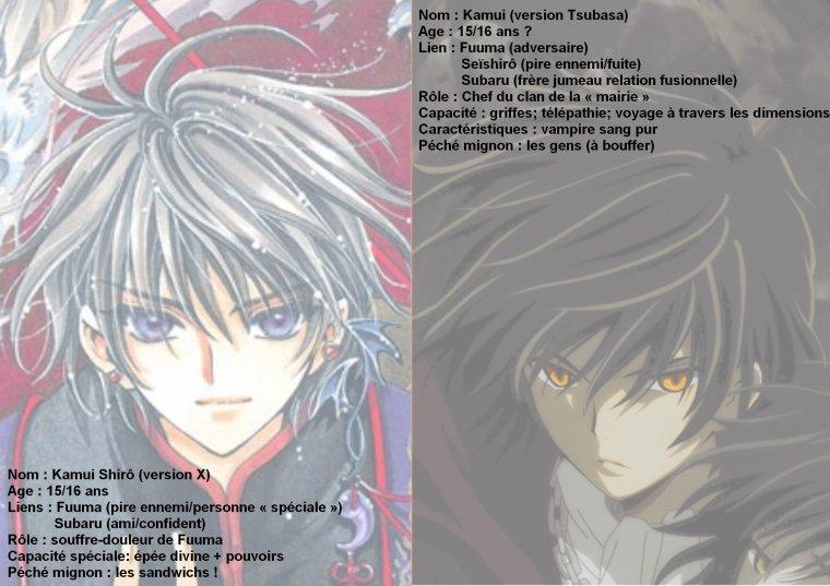 Anatomie comparée personnage X et Tsubasa p3