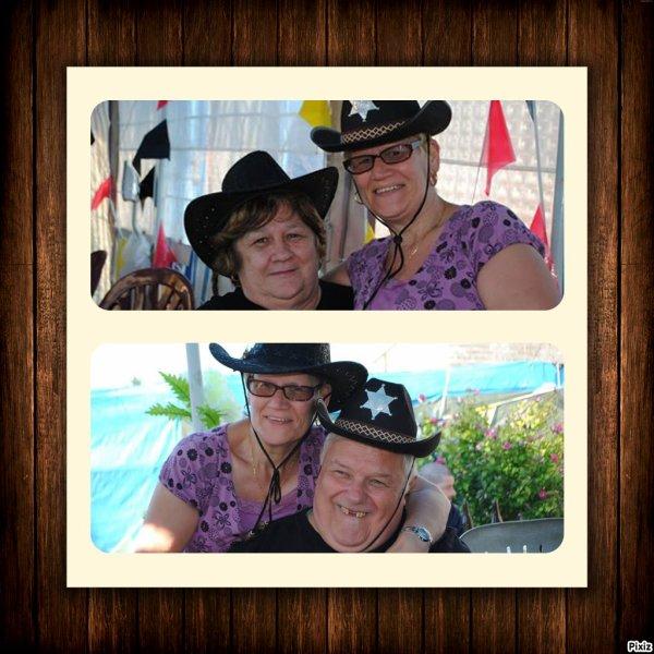 ma belle s½ur et sont copin et moi Jacqueline & mon mari