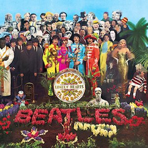 The Beatles- Sgt Pepper's Lonely Hearts Club Band     (1967)