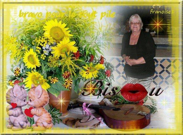 Remerciements de Françoise