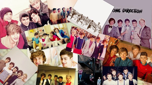 One Direction : the best ! I love you guys !!! <3