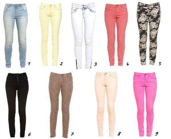Quel est votre pantalon préféré ?