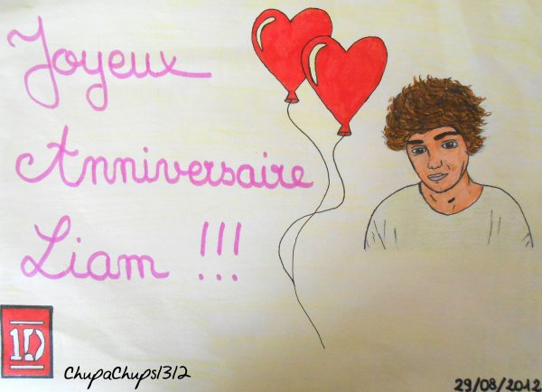 Happy 19th Birthday Liam !!! ♥