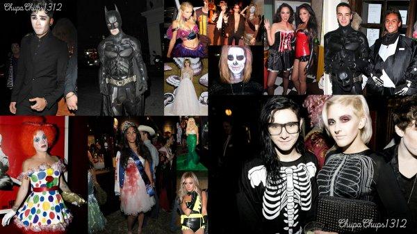 Halloween 2012 avec les stars !!