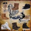 Les chaussures à la mode ! # Juliette et Alexia