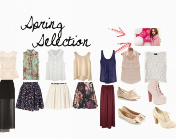Spring selection. # Anissa