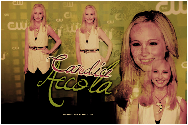 17/05/2012 :Candice au The CW Network's 2012 Upfront   !
