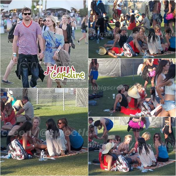 15/04/2012: Candice au festival de musique Coachella!
