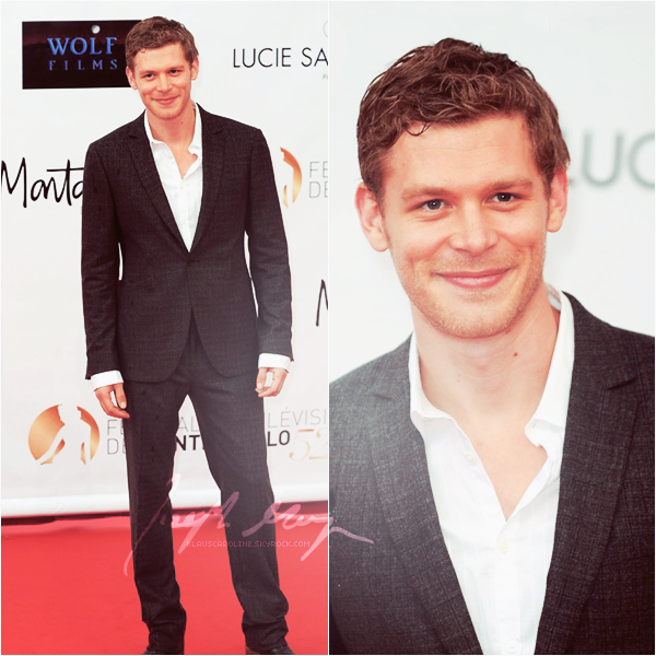 Juin 2012:Joseph Morgan au festival de la télévision de Monte-Carlo!