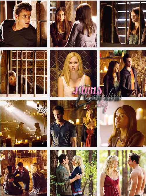 The Vampire Diaries 4x01 : Growing pains!
