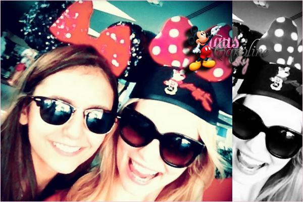 01/09/2012: Candice Accola avec Nina Dobrev et Kayla Ewell à DisneyWorld en Floride!