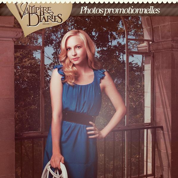 Photos promotionnelles de Candice pour la saison 1 de TVD !  .