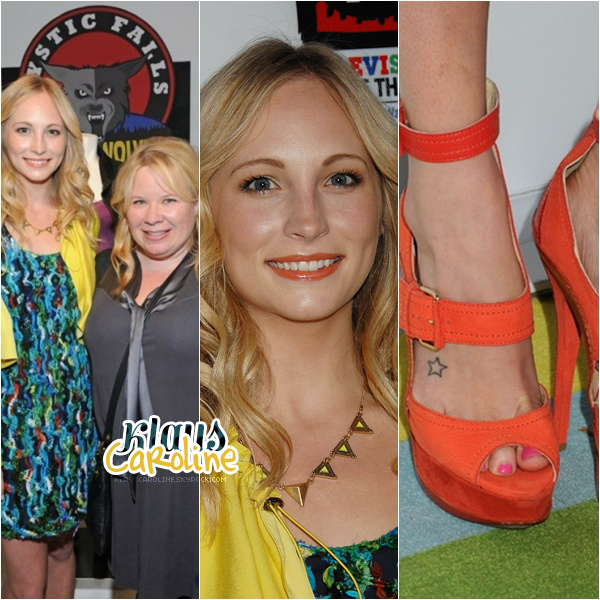 "12/04/2012:Candice au Paley Center For Media & Warner Bros. Celebrate Opening Of ""Television: Out Of The Box"" en compagnie de Julie Plec!"