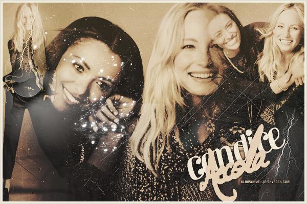 12/08/2012: Candice et  sa co-star Kat Graham pour le magasine «Express Collections» Automne/Hiver 2012!     Parfaite et toujours aussi souriante!