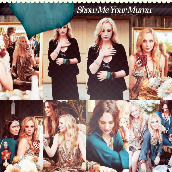 6/12/2012 : Toutes les photos du shoot de Candice pour « Show Me your Mumu » + video BTS !