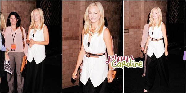 17/05/2012: Candice arrivant au CW Network's 2012 Upfront !