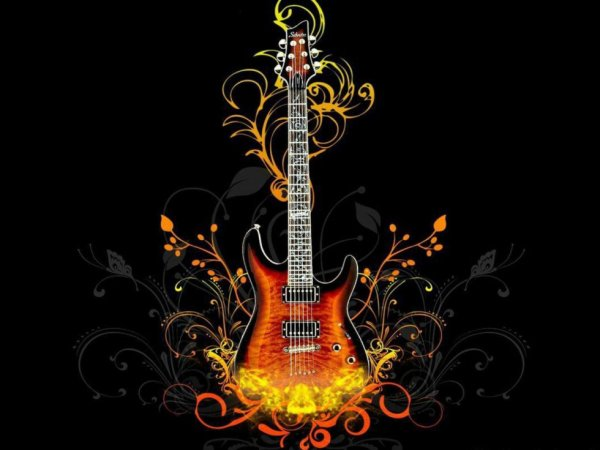 elle et magnifique cette guitare