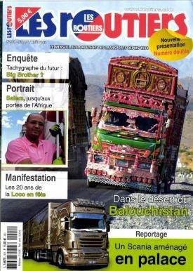 parution dans le  No 901 du magazine les routiers avec mon reportage . à découvrir juillet/août