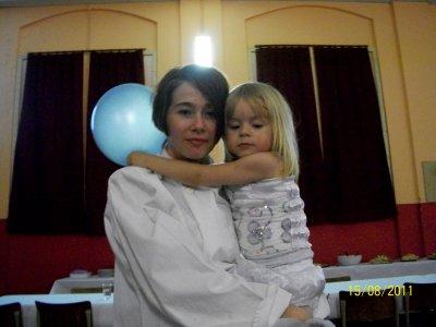 moi et mon bebe que j aime