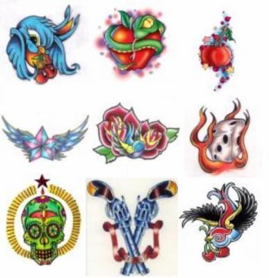 Les styles de tattoo ♧New School , Custom