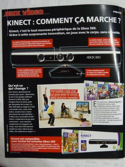 PUB Pour Le Kinect