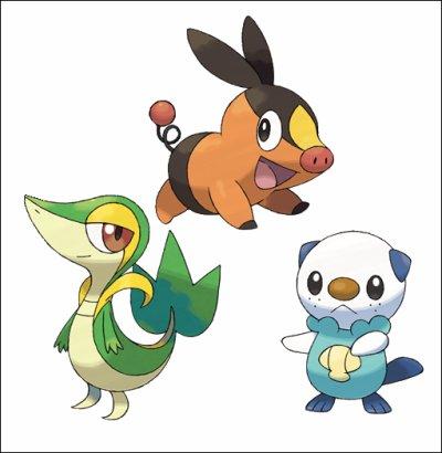Pokémon : Version Noire et Blanche.