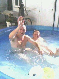 Mon père et mon frère.