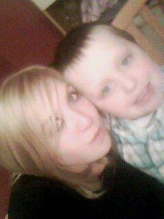 Ma soeur Katia et Damien mon cousin !