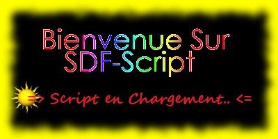 SDF-ScripT