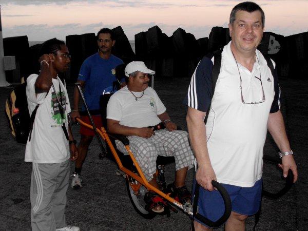 RANDO SANTE BOIS MADAME / PISTE DERRIERE AEROPORT DU 25 AVRIL 2012