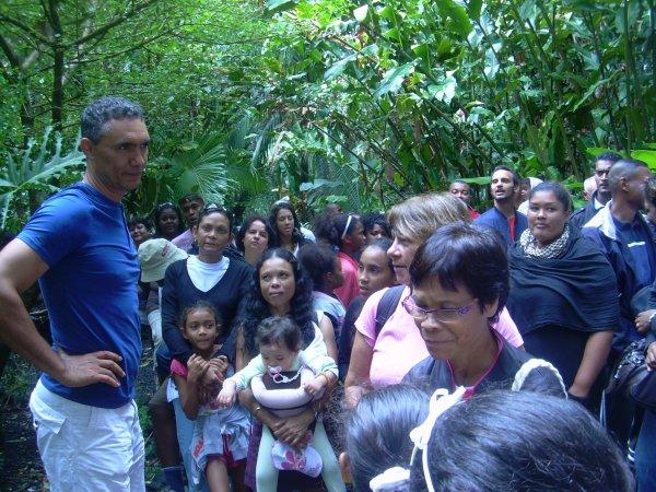 RANDO / VISITE DU JARDIN DES PARFUMS ET DES EPICES A SAINT PHILIPPE LE 30 SEPTEMBRE 2012
