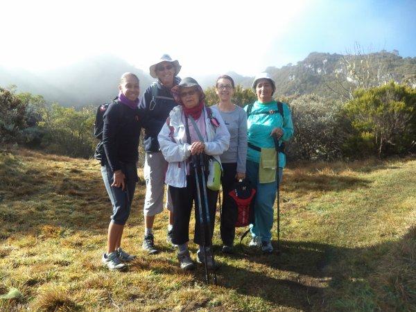 Rando Pour Tous Tour du Trou Blanc et du Piton Sec Dimanche 06 juillet 2014
