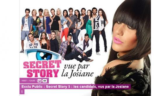 Secret Story 5: La Josiane n'a pas la langue dans sa poche